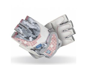 MadMax Dámské fitness rukavice No Matter White