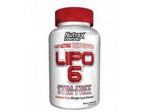 Nutrex Lipo 6 STIM FREE 120 cps exp.