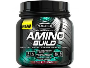 Muscletech Amino Build 270 g exp. (zhrudkovatelý)