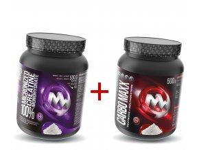 maxxwin Creatine Monohydrate + Carbo maxx