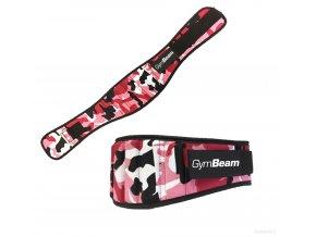 Dámský fitness opasek Pink Camo