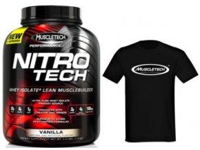 muscletech nitro tech + tricko zdarma